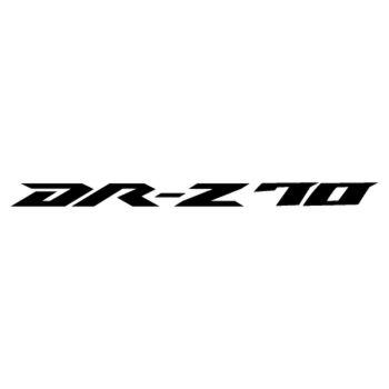 Sticker Suzuki DR Z70 Logo