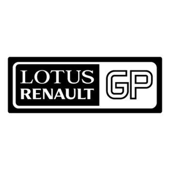 Sticker Lotus Renault GP Logo n°2