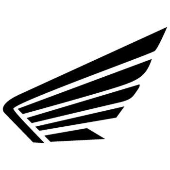 Honda Wings logo Decal