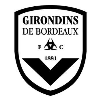 Sticker FC Girondins de Bordeaux Logo 2ème Modèle