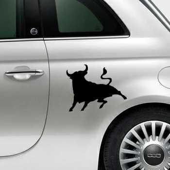 El Toro Bull Spain Fiat 500 Decal