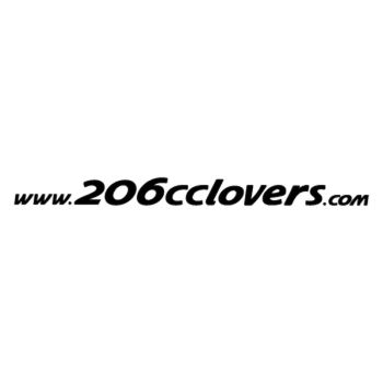 206 cc Lovers siteweb Decal