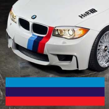 BMW M Series Stripe Decal