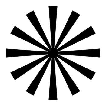 Sticker Rayons Soleil