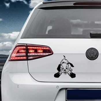 Dalmatian Dog Volkswagen MK Golf Decal