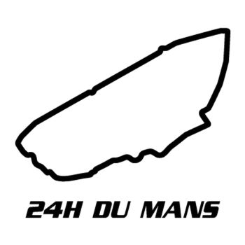 Sarthe 24H of Le Mans Circuit Decal 2
