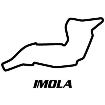 Sticker Rennstrecke Enzo & Dino Ferrari Imola