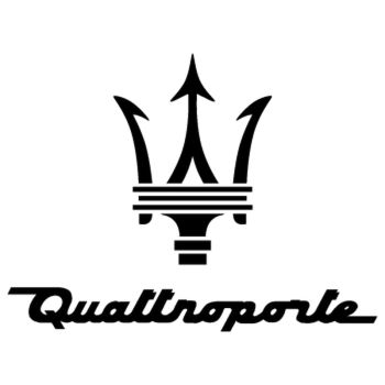 Maserati Quattroporte Logo Decal