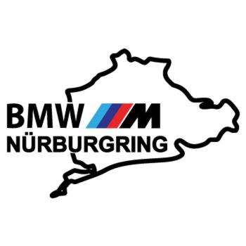 BMW M Series Nürburgring Logo Decal