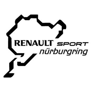 Renault Sport Nürburgring logo Decal