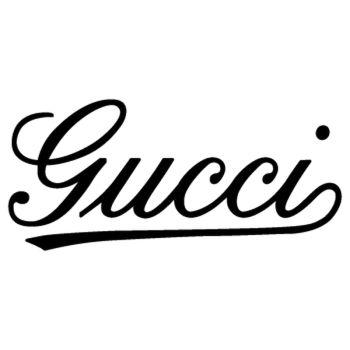 Fiat 500 Gucci logo Decal