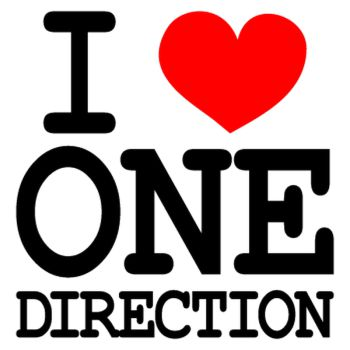 I Love One Direction T-shirt 2
