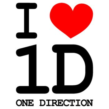 I Love 1D One Direction T-shirt