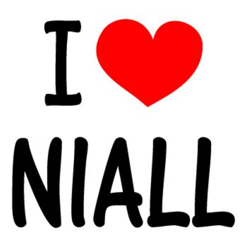 I Love NIALL (One Direction) T-shirt