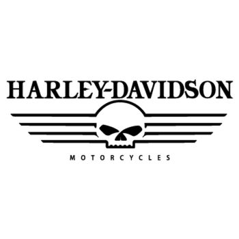 Harley Davidson Motorcycles Skull logo Decal
