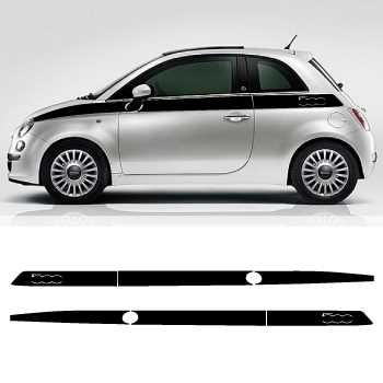 Fiat 500 Decoration Logo decals set