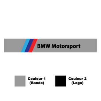 Sticker Auto Bande Pare-Soleil BMW Motorsport M Series