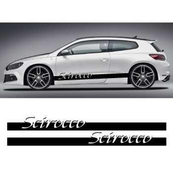 Kit Stickers Bande Seitenleiste Volkswagen Scirocco