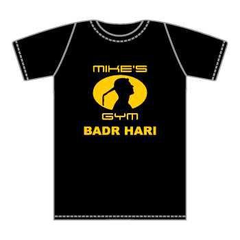T-shirt K-1 Badr Hari Mike's Gym