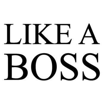 Like a Boss t-shirt