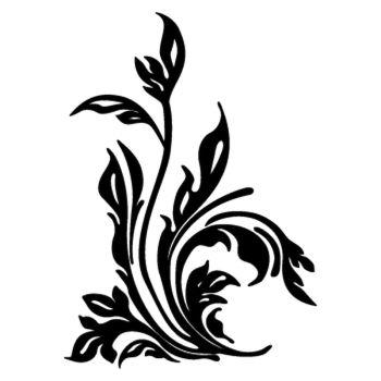 Sticker Fleur 4