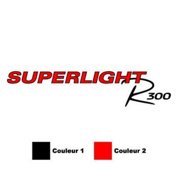 Caterham Superlight R300 Logo Colors Decal