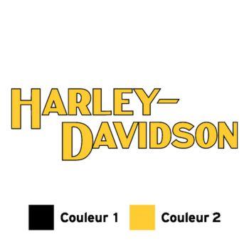 Harley-Davidson logo 1982 motorcycle Decal