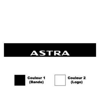 Opel Astra Sunstrip Sticker