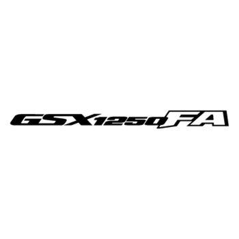 Sticker Suzuki GSX1250FA Logo 2012