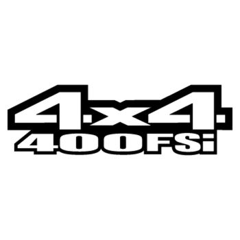 Sticker Suzuki King Quad 400FSi 4x4 Logo 2013 – 2ème Modèle