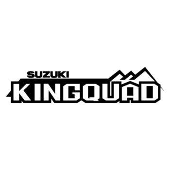 Sticker Suzuki King Quad Logo 2013 – 2ème Modèle