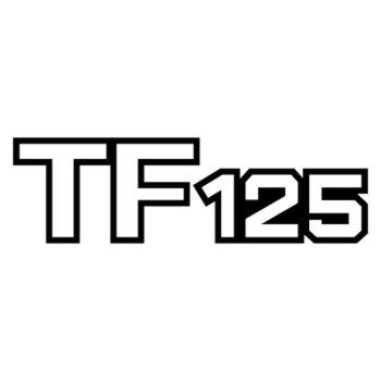 Sticker Suzuki Mud Bug TF 125 Logo