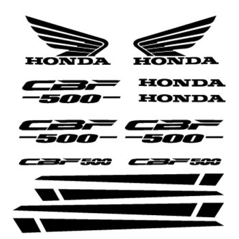 Honda Honda CBF 500 Decals Set