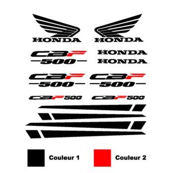 Kit Stickers Honda CBF 500 - 2 Couleurs