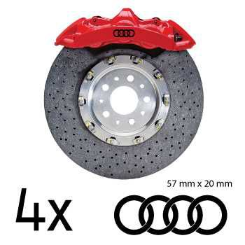 Audi brake decals set - 2nd model