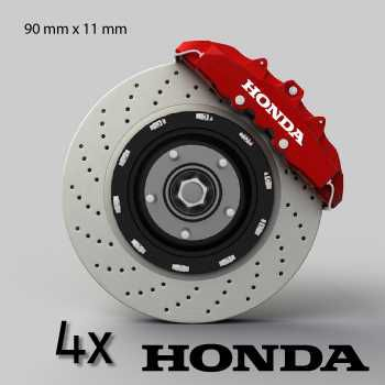 Honda logo brake decals set