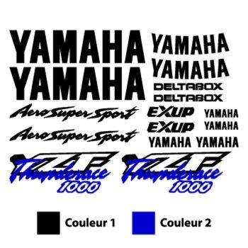 Kit Stickers Yamaha YZF Thunderace 1000 Aero Super Sport Deltabox