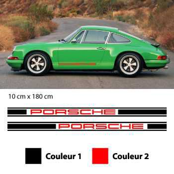 Porsche 911 oldtimer stripes decals set