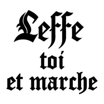 Leffe toi et marche parodie Abbaye de Leffe T-shirt