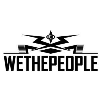 Sticker Wethepeople BMX Logo 2012 avec l'Oeil