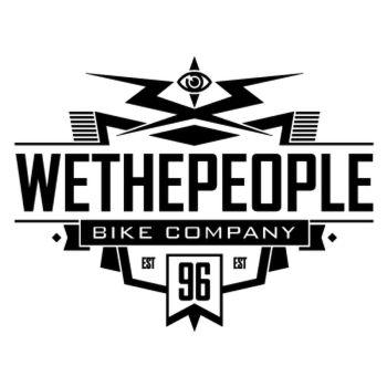 Sticker Wethepeople BMX Bike Company Est 96 Logo