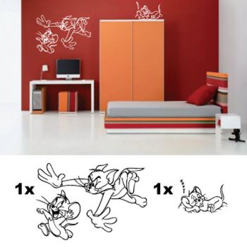 Kit Stickers Chambre Enfant Toon