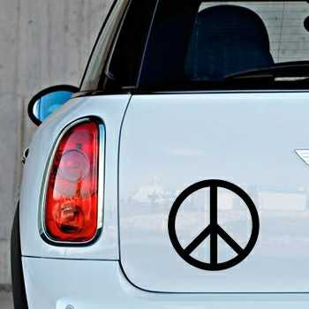 Sticker Mini Peace & Love Logo