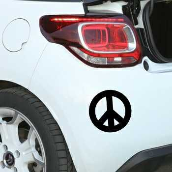 Sticker Citroën Peace and Love Logo 2