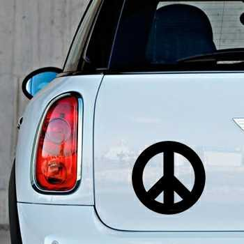 Sticker Mini Peace and Love Logo 2