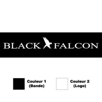 Sticker Bande Sonnenblende black Falcon