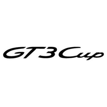Porsche GT3 Cup logo Decal