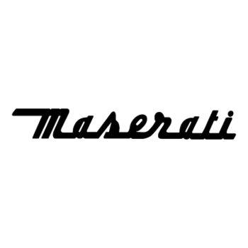 Maserati logo Decal