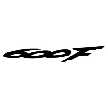 Honda CBR 600 F year 2000 logo motorcycle Decal