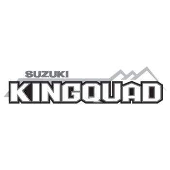 Sticker Suzuki King Quad Logo 2013 Couleur